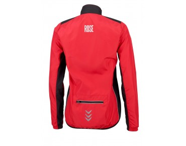 ROSE PRO FIBRE WIND women's windbreaker red/black
