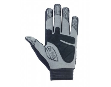 ROSE MTB GEL II full finger gloves black/dark grey