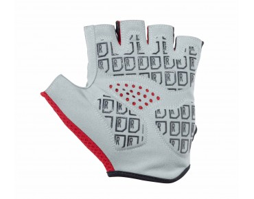 ROSE GEL STRIPES gloves red/black