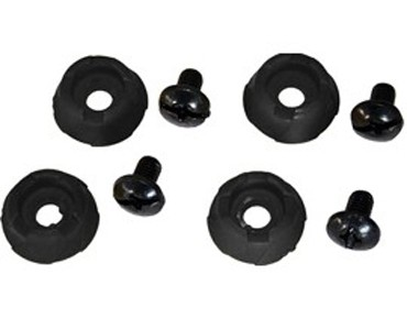 NORTHWAVE Stud protection caps 4 pieces black