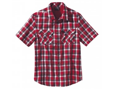 Jack Wolfskin Hemd FARO indian red checks