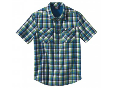 Jack Wolfskin Hemd FARO electric blue checks