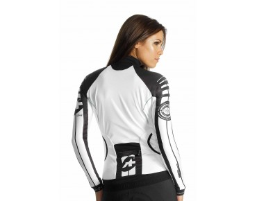 ASSOS INTERMEDIATE_S7 women's long-sleeved jersey white