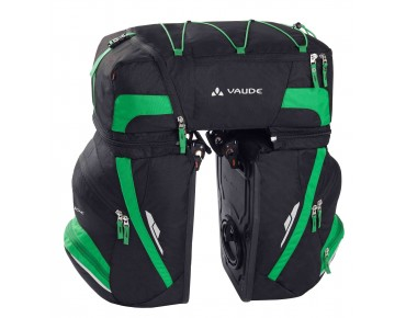 VAUDE KARAKORUM panniers black/meadow