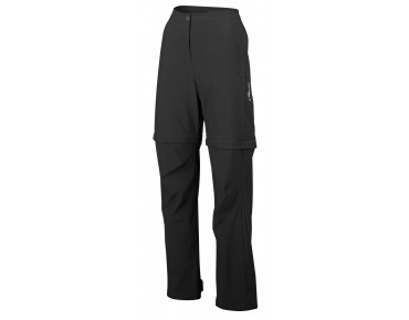 GONSO Women's zip-off bike pants RUBINA black