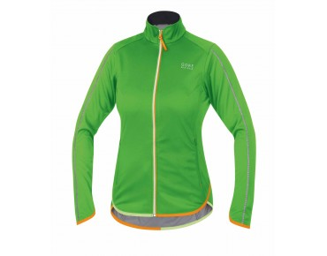 GORE BIKE WEAR COUNTDOWN WINDSTOPPER Soft Shell LIGHT Damen Jacke kiwi green