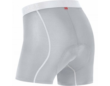 GORE BIKE WEAR Boxer Shorts Radunterhose titan/white