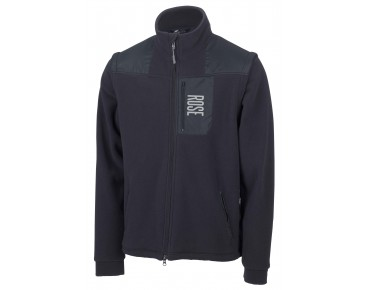 ROSE fleece jacket ZIPP-OFF anthrazit