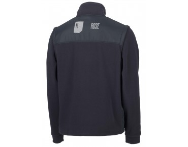 ROSE fleece jacket ZIPP-OFF anthracite