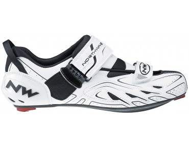 NORTHWAVE TRIBUTE triathlon shoes white/black