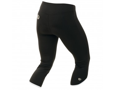 PEARL iZUMi SUPERSTAR II women's 3/4-length cycling tights black-white