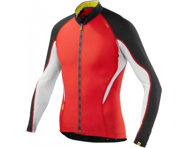 MAVIC Long-sleeved jersey HC bright red/black