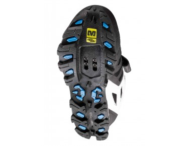 MAVIC ZOYA women's MTB/trekking shoes black/white/process blue