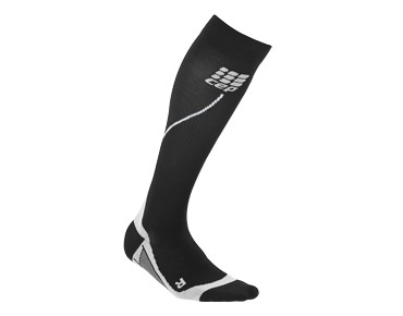 cep RUN 2.0 women's compression socks black