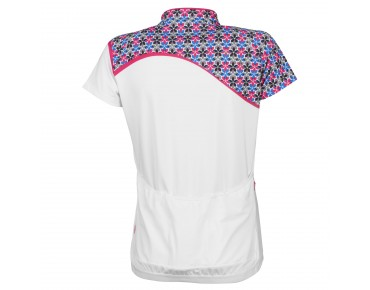 ziener Women's bike shirt CAROLAINE white