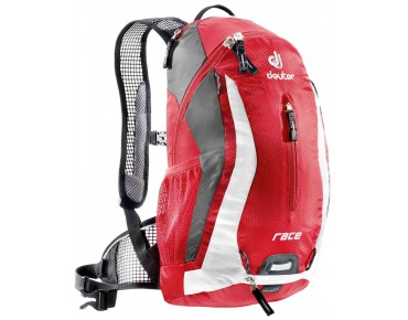 deuter RACE backpack fire-white