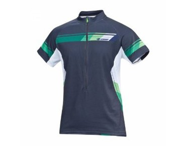 ziener Bike shirt CHENG black/new green