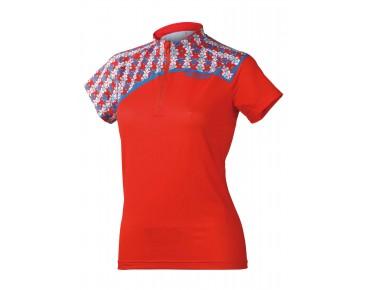 ziener Kinder Trikot CAROLAINE new red