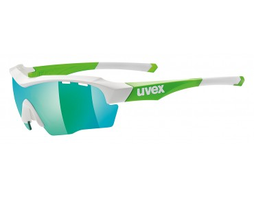 uvex Glasses set sgl 104 green/mirror green