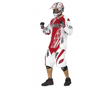 O´NEAL Long-sleeved bike shirt ELEMENT FR white/red Greg Minnaar