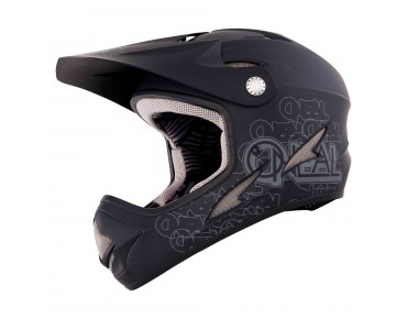 O´NEAL BACKFLIP FIDLOCK full-face helmet flat black