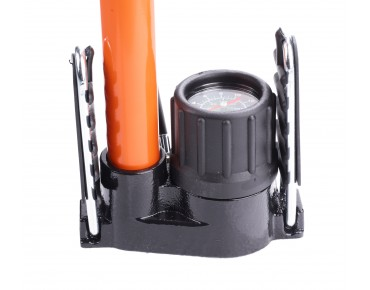 SKS Germany SKS RENNKOMPRESSOR FLOOR PUMP orange