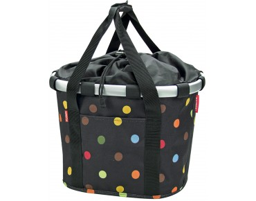 Reisenthel BIKEBASKET handlebar bag with KLICKfix mount dots