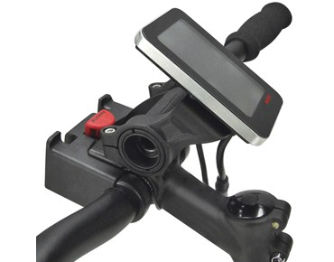 KLICKfix accessory holder for handlebar adapter MULTICLIP E black