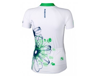 Giordana Damen Trikot TRADE FLOWER white/fluo green