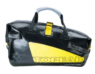 Topeak Journey Trailer and DryBag single wheel trailer black