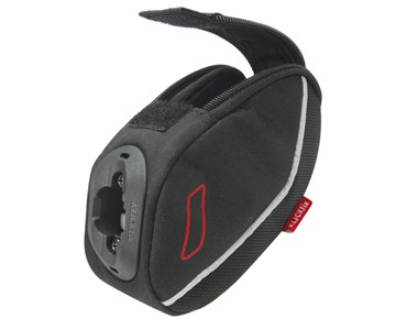 KLICKfix INTEGRA saddle bag incl. QUAD MINIBLOC adapter schwarz