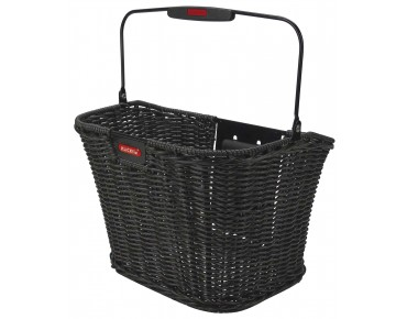 KLICKfix STRUCTURA RETRO front bicycle basket black