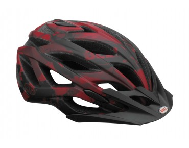 BELL SEQUENCE MTB-Helm matte red/black exhaust