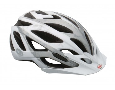 BELL SEQUENCE MTB-helm matte white/silver logos