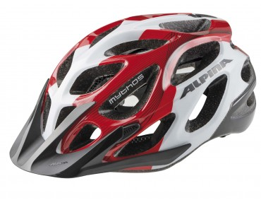 ALPINA MYTHOS MTB-helm white/red/black