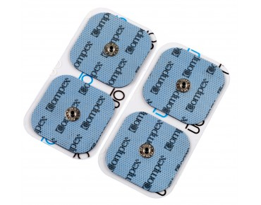 Compex replacement electrodes Easy Snap 5x5 cm