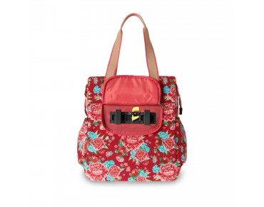 BASIL BLOOM SHOPPER 20 l women's bicycle bag scarlet red