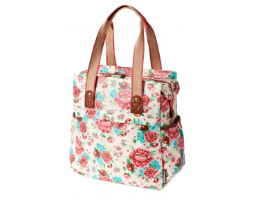 BASIL BLOOM SHOPPER 20l Damen-Fahrradtasche gardenia white