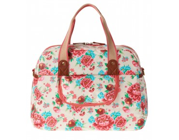 BASIL BLOOM CARRY ALL BAG 18l Damen-Fahrradtasche gardenia white