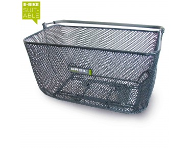 BASIL CATU BASSOLID rear bicycle basket titanium