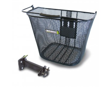 BASIL BASIMPLY EC front bicycle basket black