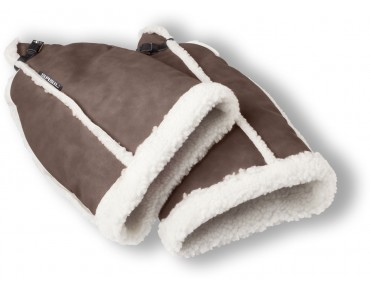 BASIL FELL hand warmer brown/white