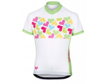 ROSE GIRLS Kinder Trikot green/pink Hearts
