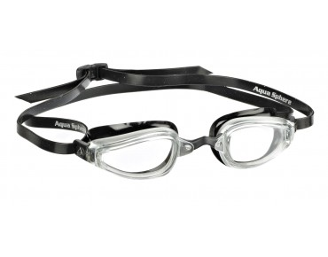Aqua Sphere K180 goggles black-silver/light lenses