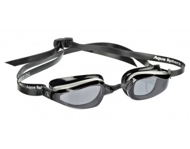 MP K180 goggles black-silver/tinted lenses