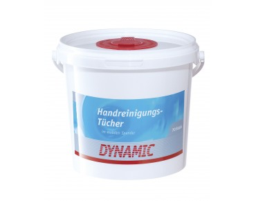 Dynamic hand cleaning wipes