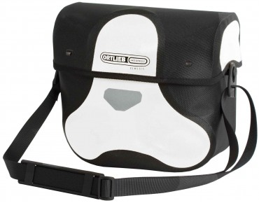 ORTLIEB ULTIMATE6 M CLASSIC handlebar bag white/black