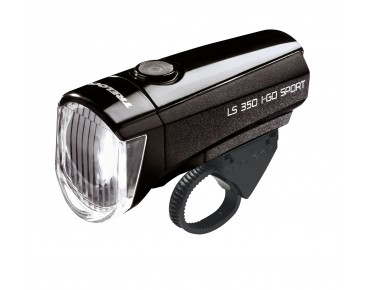 Trelock LS 350 I-GO® SPORT battery front light black