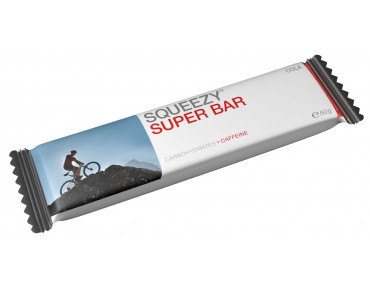 Squeezy Energy Bar / Super Bar Riegel à 50 g Cola+Caffeine