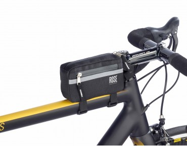 ROSE BASIC top tube frame bag black